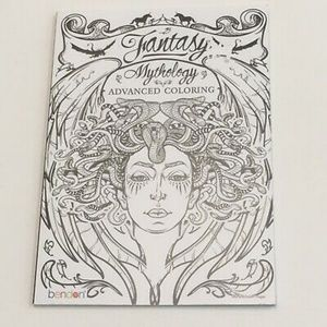 Adult Coloring Book Fantasy mythology